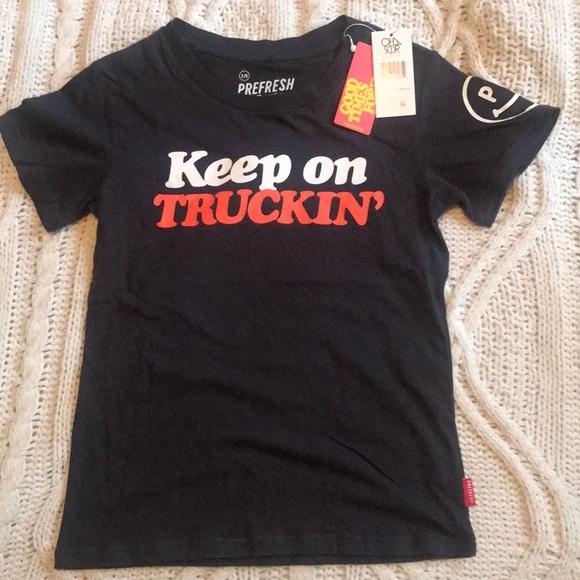 NWT Keep on Truckin' kids' t-shirt - size 7/8 NWT